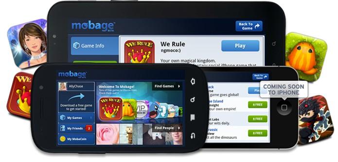 Mobage, a rede focada em games (Foto: Divulgação/Mobage)