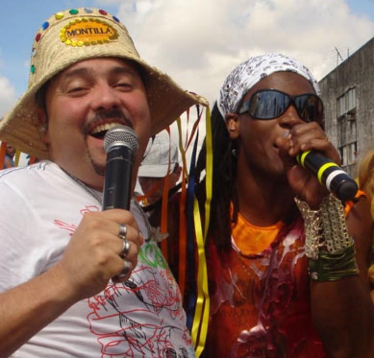Geraldinho Lins e Toni Garrido