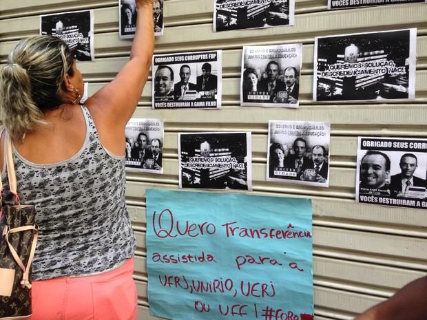 Alunos pedem transferência assistida para universidades federais (Foto: Káthia Melo / G1)
