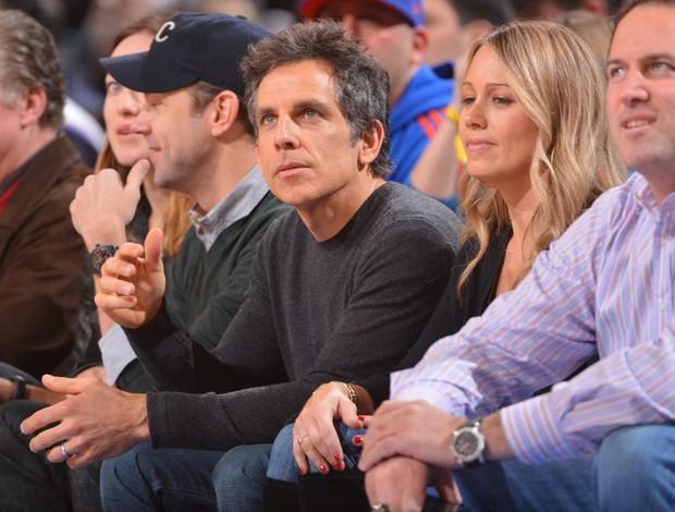 Ben Stiller assiste a New York Knicks x Los Angeles Clippers (Foto: Reuters)