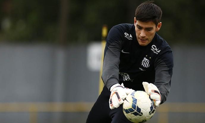Gabriel Gasparotto (Foto: Ricardo Saibun / Divulgação Santos FC)