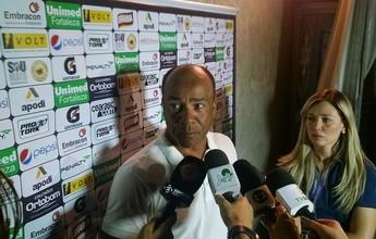 """""""Precisávamos ser mais agudos"""", diz Sérgio Soares após derrota em casa"""