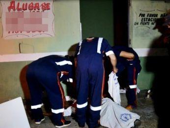 Haitiano foi morto ao chegar em casa na noite deste domingo (Foto: Ronaldo Teixeira/ Agora MT)