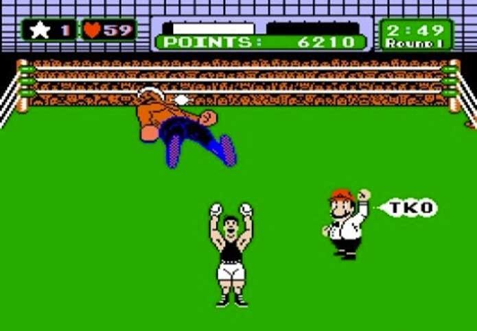 Punch Out!! traz Mario como juiz de boxe (Foto: Reprodução/Felipe Vinha)