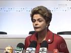 Dilma fala pela primeira vez sobre a prisão do senador Delcídio