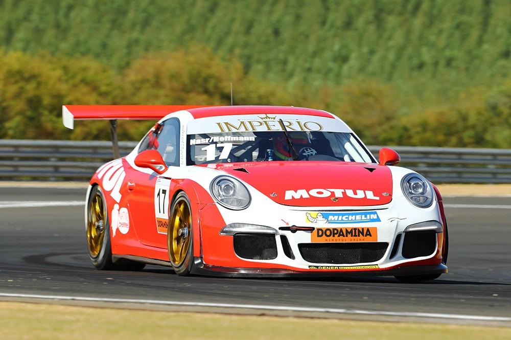 Ingo Hoffman e Felipe Nasr Endurance Porsche Imperio GT3 Cup (Foto: Divulgação/Luca Bassani/Porsche Império GT3)