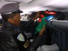 Rapaz é preso com haxixe escondido em bagagem de ônibus em Penápolis