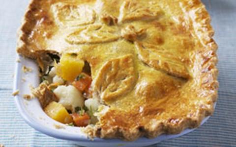 Woolton: torta salgada vegetariana de legumes