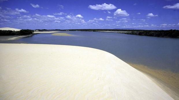 Praia da Barra dos Remdios, Cear (Foto: Divulgao/ Secretaria do Turismo do Cear )