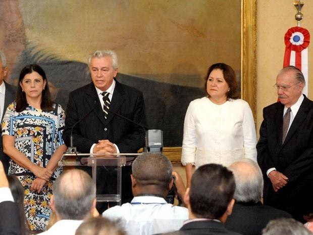 Arnaldo Melo (PMDB) assume como governador interino do MA (Foto: Divulgação / Alema)