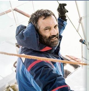 Em Sete Vidas, Miguel (Domingos Montagner) é um oceanógrafo solitário, que viaja numa expedição arriscada rumo à Antártica. (Foto: Globo / Divulgação)