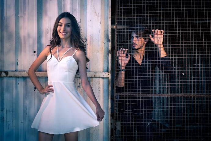 Marina Moschen relembra atrizes que marcaram outras temporadas de 'Malhação' (Foto: Fabiano Battaglin/Gshow)