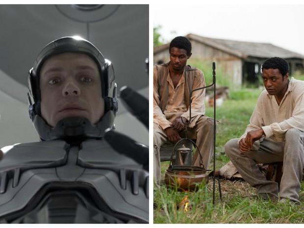 Robocop e 12 anos de escravidão estarão em cartaz neste fim de semana (Foto: Divulgação)