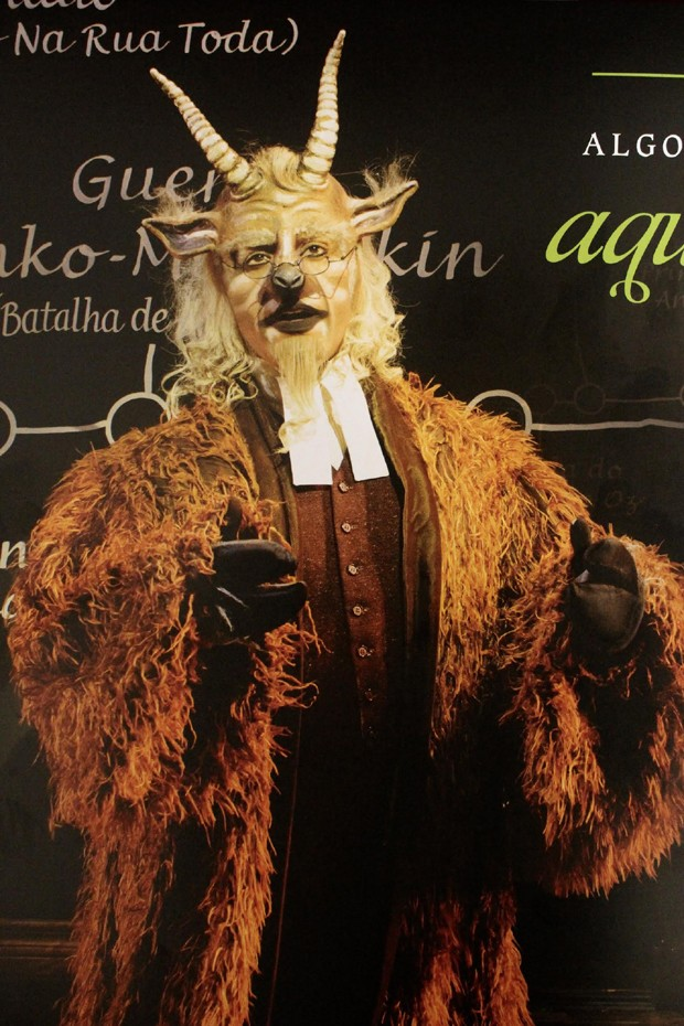César como Dr. Dillamond (Foto: Victor Miranda / Divulgação)