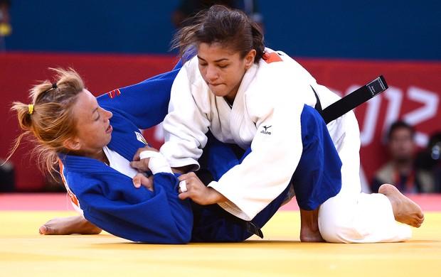 Sarah Menezes está na final do peso-ligeiro em Londres 2012