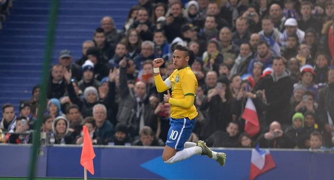 neymar frança x brasil  (Foto: Getty Images)