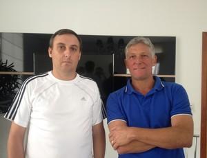 Júnior Martins e Márcio Bittencourt (Foto: Dennis Weber)