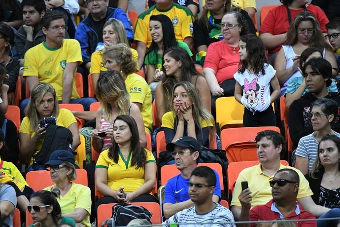 Brasil x Suécia, Goalball, Paralimpíada Rio 2016 (Foto: André Durão)