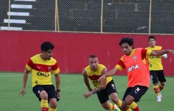 Vitória faz treino fechado, e Argel comanda coletivo no Barradão