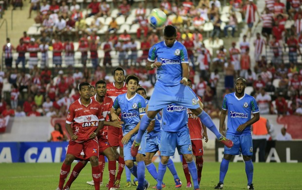 CRB x Macaé, Rei Pelé (Foto: Ailton Cruz/ Gazeta de Alagoas)
