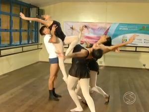 Projeto Dança & Magia, de Barra Mansa, é escolhido para receber recursos do 'Criança Esperança' (Foto: Reprodução/TV Rio Sul)