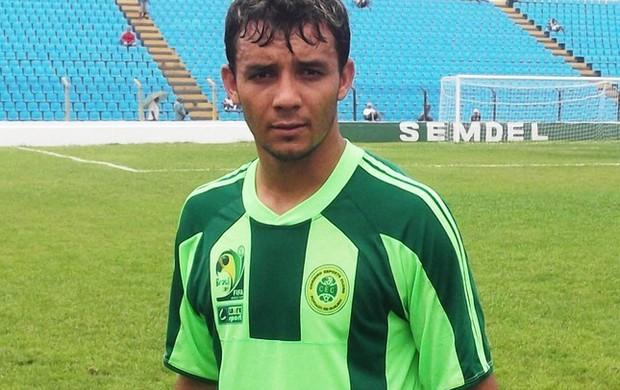 Ulisses marcou 62,5% dos gols do Cordino no Maranhense e é dúvida para semifinal (Foto: Bruno Alves)