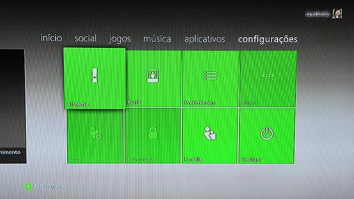 Acesse o menu de configurações para deletar o perfil (Foto: Reprodução/Tais Carvalho)