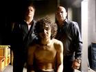 De volta à TV em O Caçador, Adriano Garib grava com Cauã e o elogia