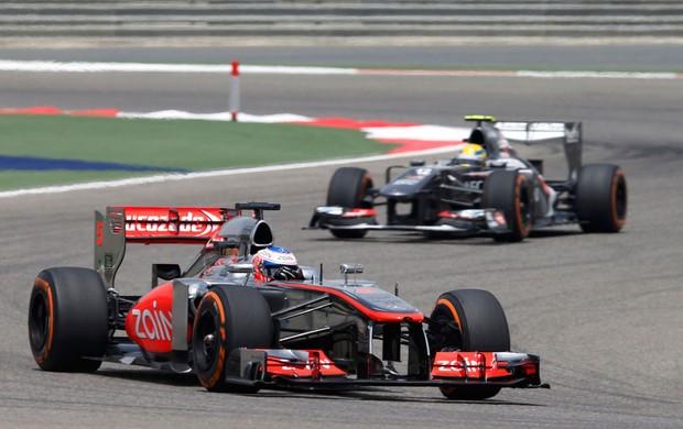 Jenson Button Mclaren gp do Bahrein (Foto: Agência Reuters)