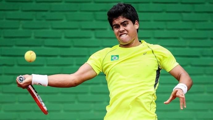 Tenista Marcelo Zormann, de Lins (Foto: Divulgação / Assessiva)
