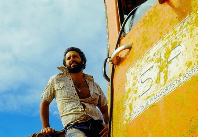 Pedro (Antônio Fagundes) em Carga Pesada (1979)