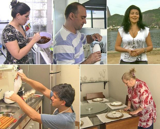 Conheça melhor o perfil dos cinco participantes (Foto: Mais Você / TV Globo)
