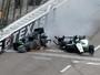 Após batida forte na Indy, Newgarden desmaia e só fratura mão e clavícula