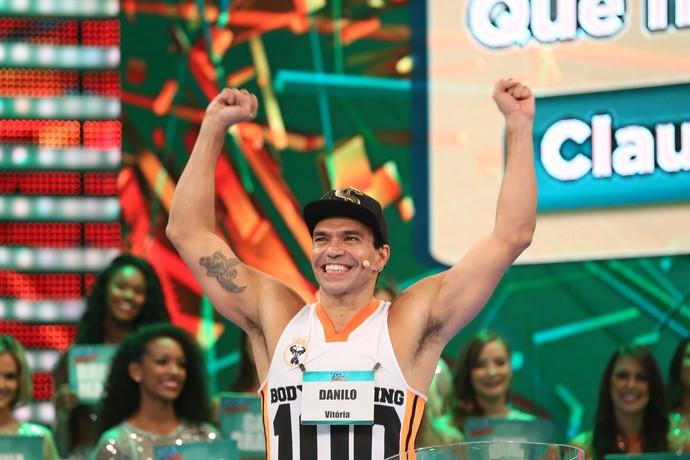 Danilo tem 42 anos e está batendo um bolão, não é? (Foto: Carol Caminha/Gshow)