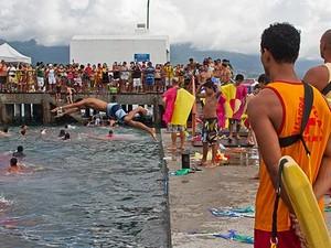 Banho da Dorotéia é uma das atrações em Ilhabela. (Foto: Divullgação/Prefeitura de Ilhabela)