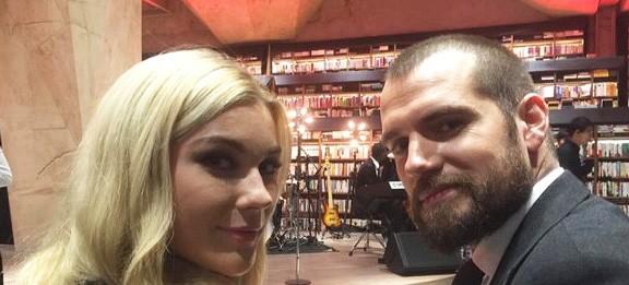 Henry Cavill e Tara King (Foto: Instagram)