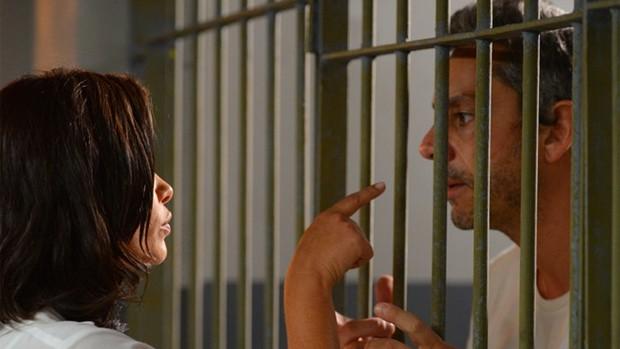 A Regra do Jogo: Tóia diz que Romero não verá o filho (rede globo)