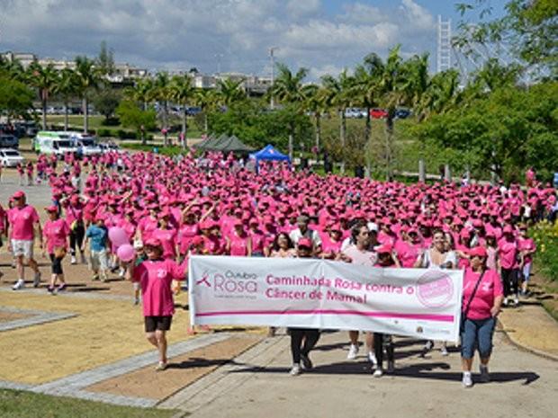 Outubro rosa visa a prevenção contra o câncer de mama (Foto: Divulgação/ Prefeitura de Jundiaí)