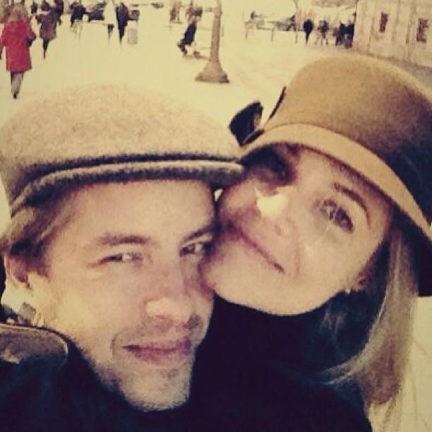 Leo e a mulher (Foto: Instagram / Reprodução)