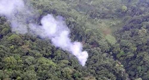 [Internacional] Acidente de helicóptero mata 16 policiais na Colômbia Colombia