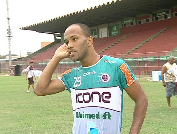 David Dener, atacante da Desportiva Ferroviária (Foto: Reprodução/TV Gazeta)