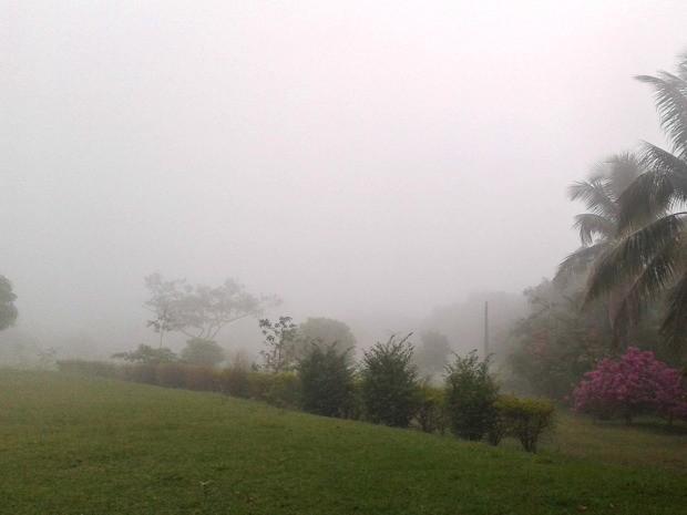 Neblina em Chapada dos Guimarães (Foto: João Ângelo/Arquivo pessoal)