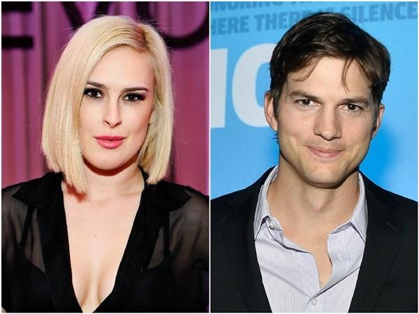 Rumer Willis e Ashton Kutcher  (Foto: Getty Images)