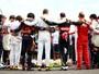 """""""Sentimos sua falta"""": família e pilotos fazem tributo a Bianchi na Hungria"""