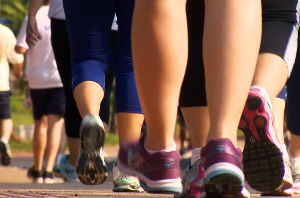 Exercícios feitos de forma regular garantem uma vida mais saudável (Foto: Reprodução TV Fronteira)