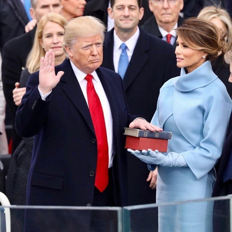 Donald Trump e Melania Trump (Foto: Reprodução)