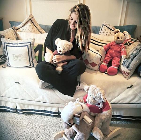 Grávida, Rafa Brites começa a entrar no mundo da maternidade (Foto: Reprodução / Instagram)