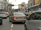 Obras no centro de Mogi diminuem opções de tráfego dos motoristas