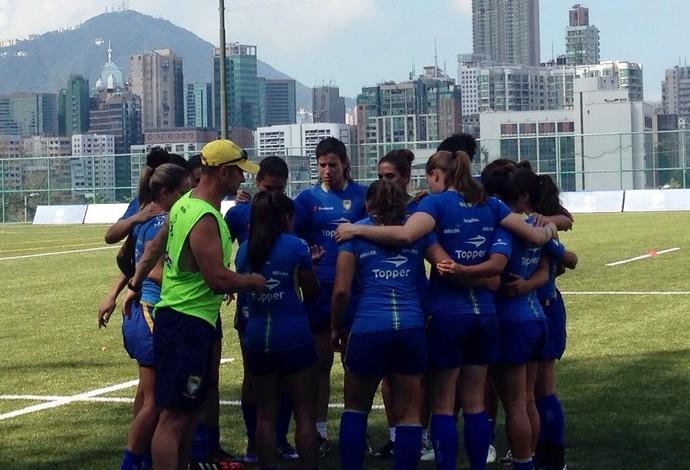 Treino seleção brasileira de rúgbi (Foto: Divulgação/CBRu)