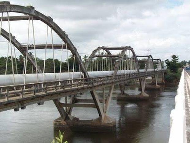 Ponte antes do desabamento (Foto: Reprodução/TV Sergipe)